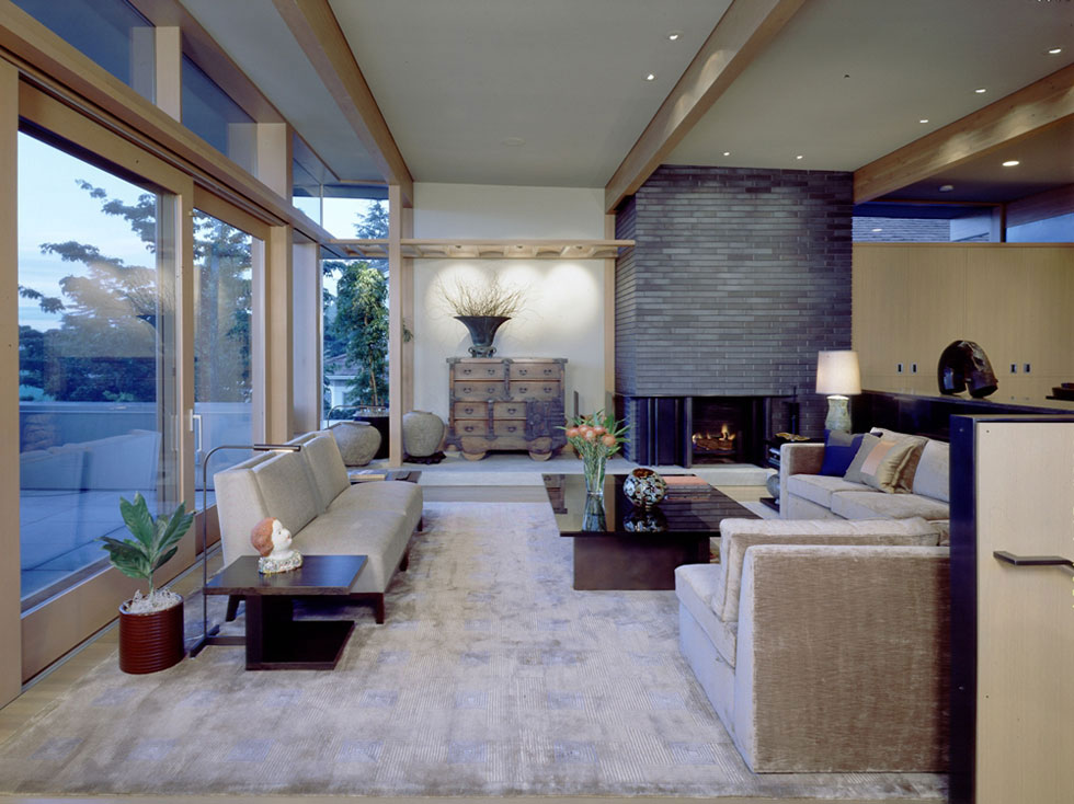 Magnolia Bluff Residence Living Room